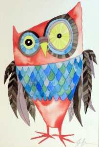 WCArtDropOwl(Owl#18)